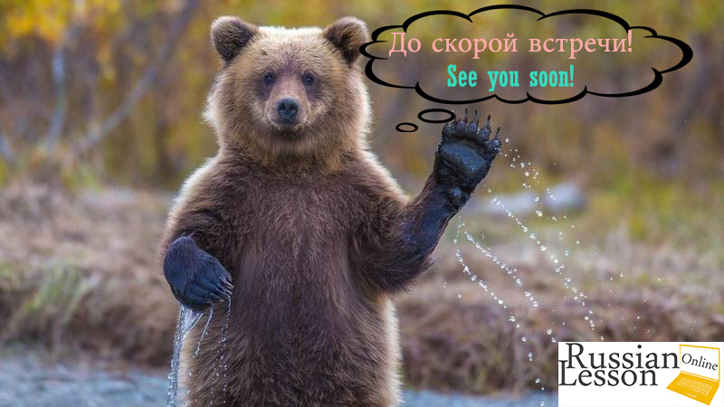 "How to say Russian ""Goodbye"" in a polite way"